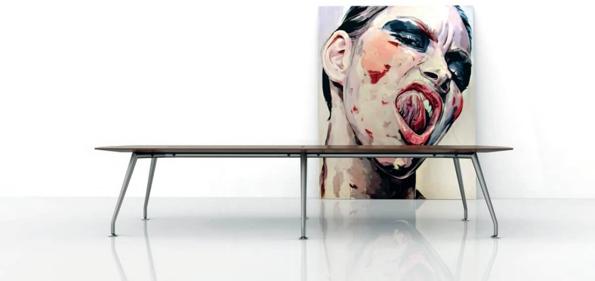mesa de reunião