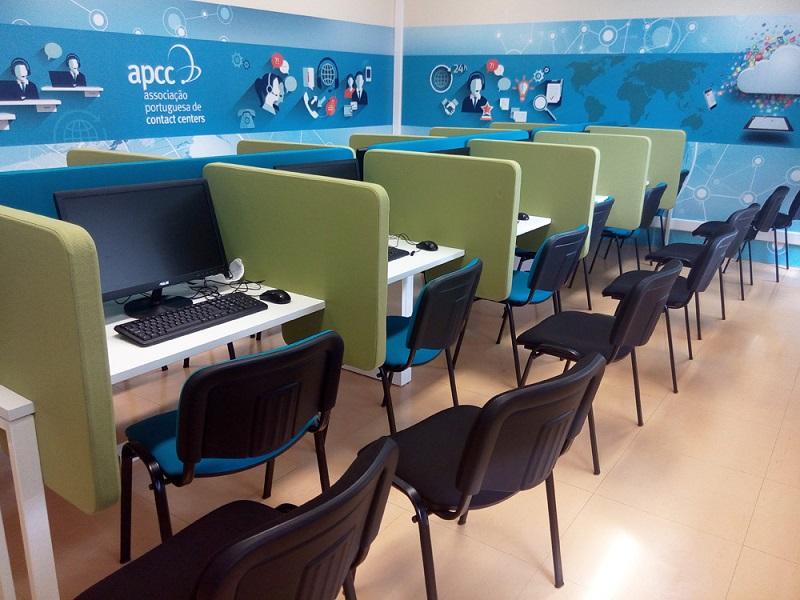 mobiliário - sala de call center
