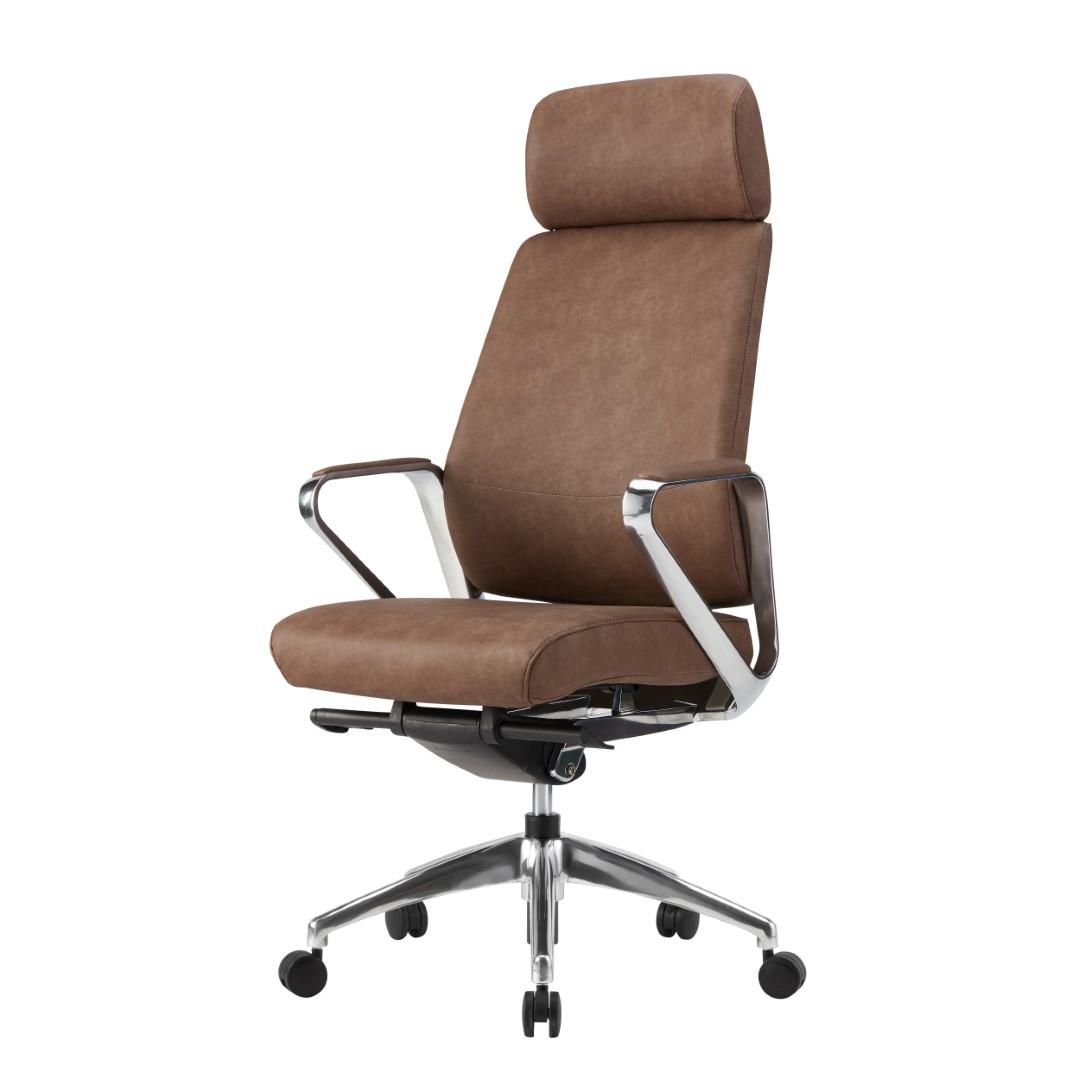 cadeiras direcionais - cadeira de couro